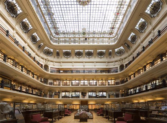 Η Κύρια αίθουσα του Μουσείου - ©www.igme.es